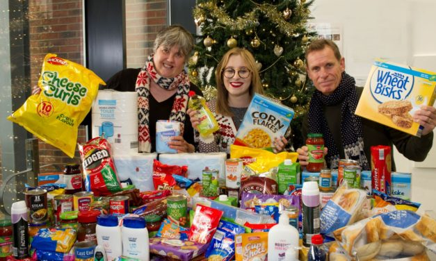 Fusion PR Creative supports local charities this Christmas