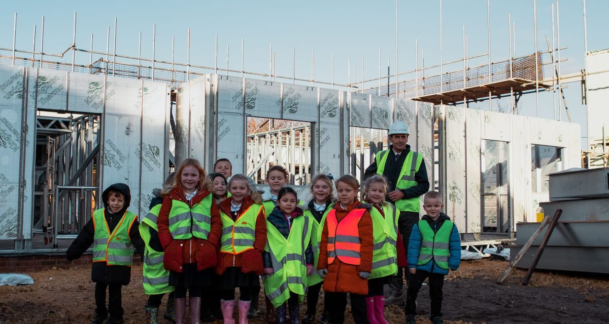 Youngsters get a taste for a career in construction