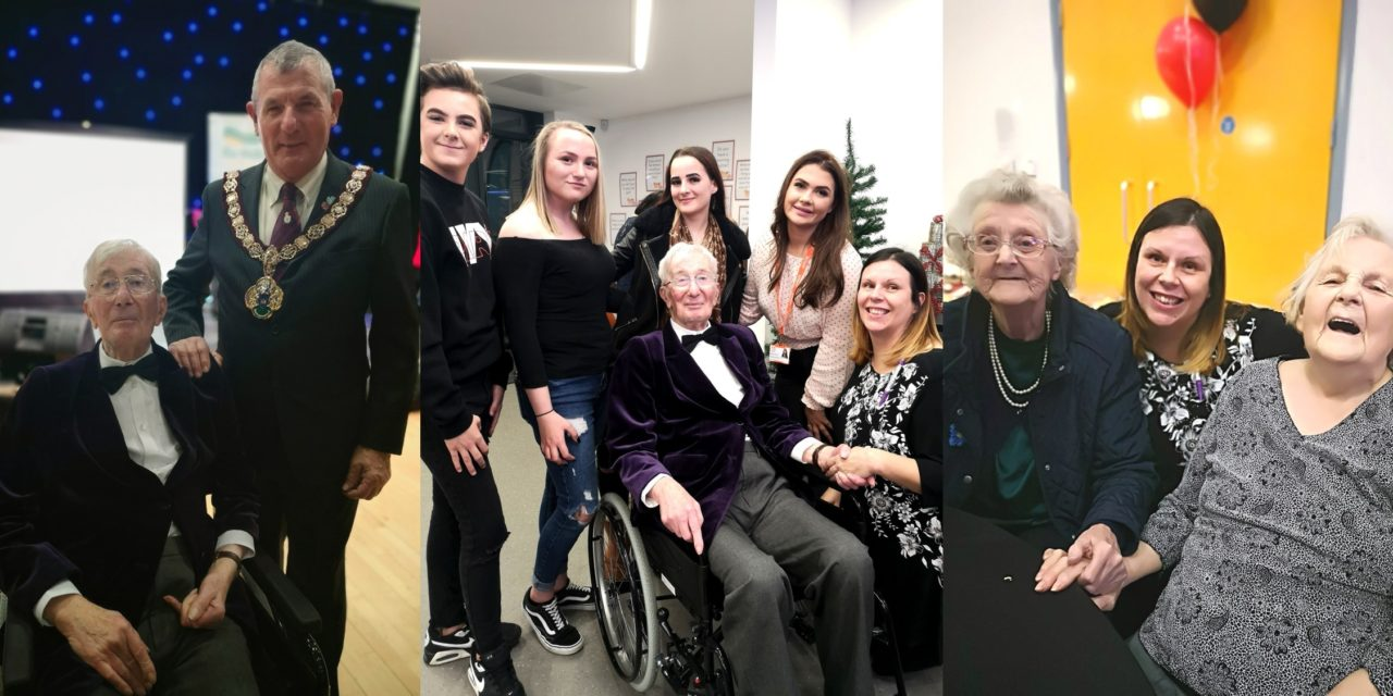 Party on Redcar seafront brings young and elderly together