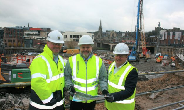 SES Engineering Services wins place on major regeneration project.