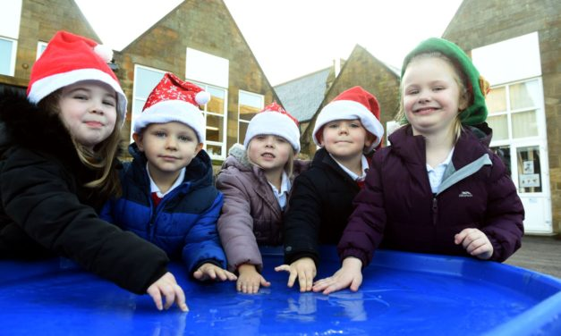 Christmas comes early at Collierley Primary!