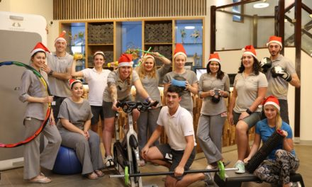 Hotel health club picks up national fitness award