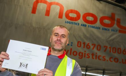Former 'Driver of the Year' handed managerial role at Moody Logistics