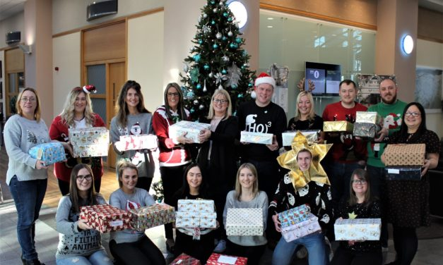 In the season of goodwill Baldwins supports Teesside charity's Christmas appeal