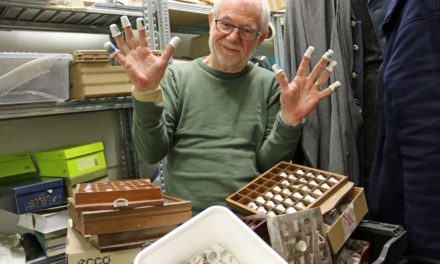 Collectors invited to thumb through collection in aid of hospice