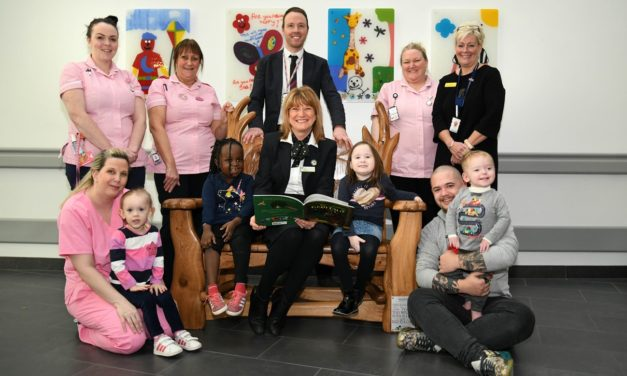 Hospital Story Chair To Provide Comfort For Children Thanks To Newcastle Building Society Grant