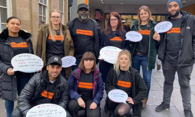 North East charity takes a stand against sexual violence with launch of #itsnotokay movement