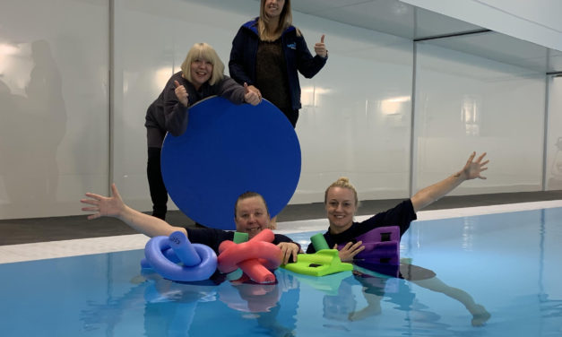 IN THE SWIM – AS NEW NEWCASTLE POOL OPENS