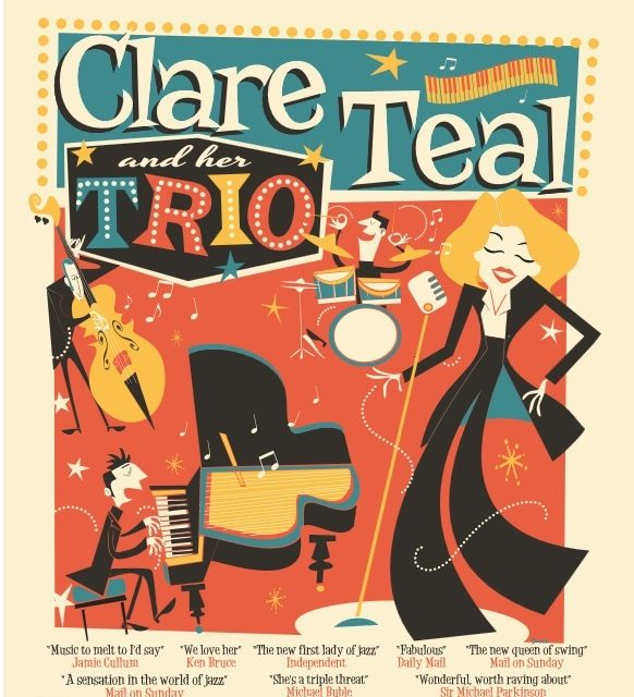 Multi Award winning Clare Teal and her Trio in Durham