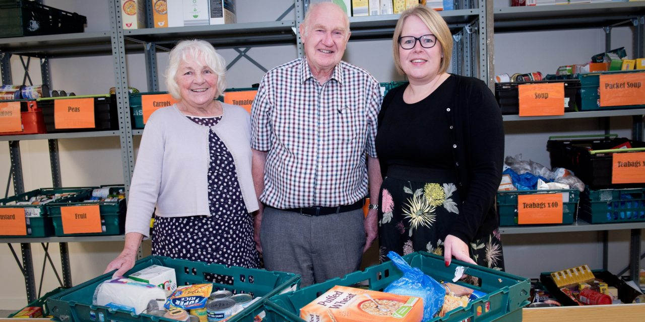 Community foodbank's future secured with new home at the Galleries