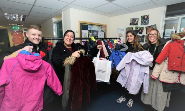 Thirteen projects helps local children to keep warm this winter