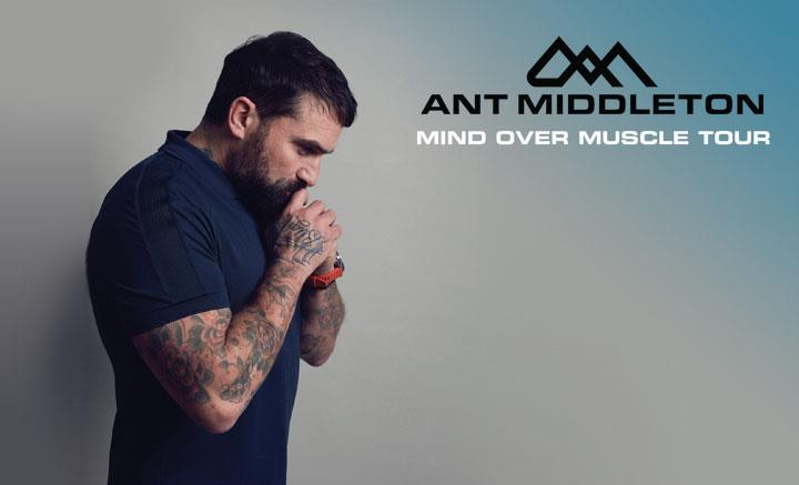 Ant Middleton Mind Over Muscle Tour 2020