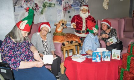 CHRISTMAS CARD APPEAL LAUNCHED BY NORTH SHIELDS CARE HOME