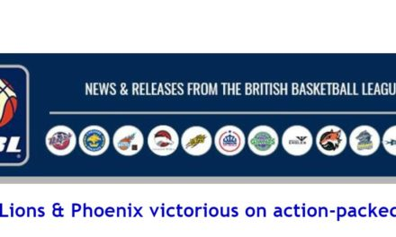 British Basketball News: Eagles, Lions & Phoenix victorious on action-packed Sunday