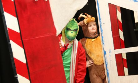 Dreaming of a green Christmas as school stages The Grinch