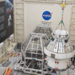 Orion Spacecraft for Artemis I Prepared for Thermal Test at NASA's Plum Brook Station