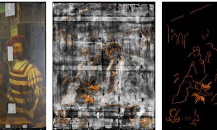 X-ray in a manger – centuries old nativity discovered during painting investigation