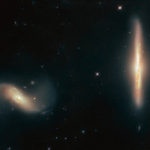 Hubble Detects Dynamic Galactic Duo