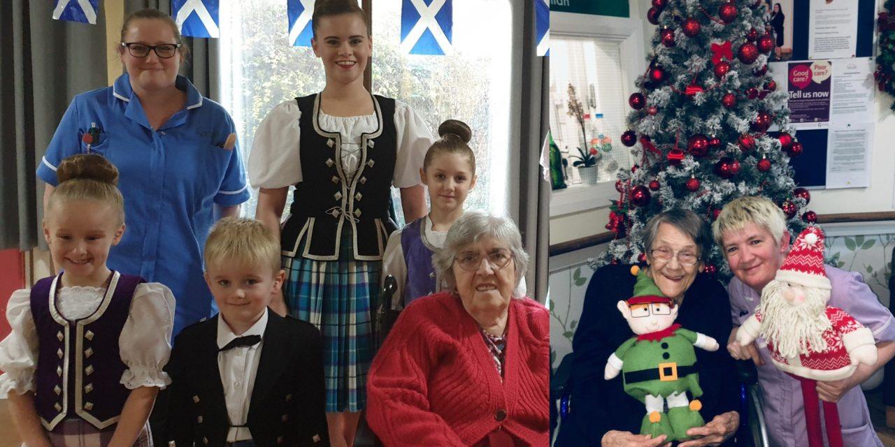 Daily festivities in care home's activity advent calendar