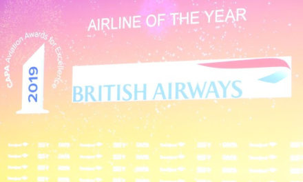 IN ITS CENTENARY YEAR, BRITISH AIRWAYS IS NAMED AIRLINE OF THE YEAR AT PRESTIGIOUS GLOBAL AIRLINE AWARDS