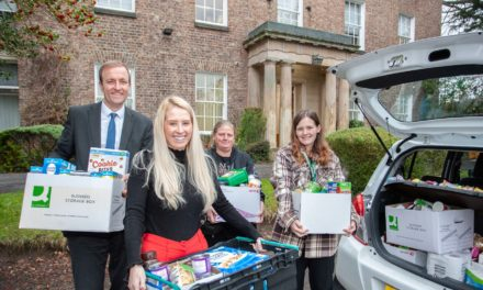 Darlington community group bags support from local accountancy firm