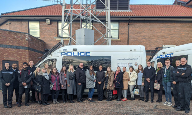 The (Police) Force is strong among Sunderland students