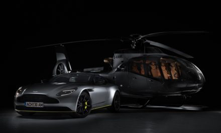 AIRBUS TEAMS UP WITH ASTON MARTIN TO LAUNCH THE ACH130 ASTON MARTIN EDITION