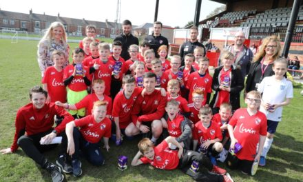 Shildon AFC going places with new Hays partnership