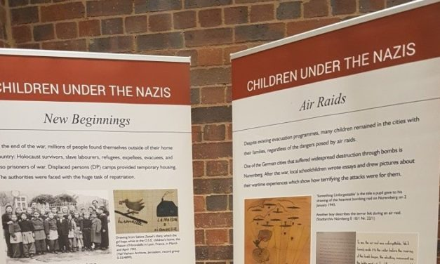 HOLOCAUST TOLD THROUGH CHILDREN'S EYES AT BRIDGES EXHIBITION