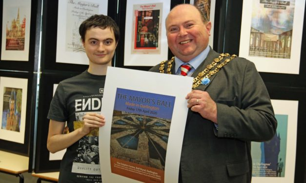 Student designers get the ball rolling for mayor