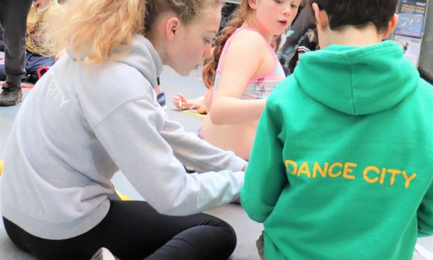Dance City rewarded for changing the lives of young people