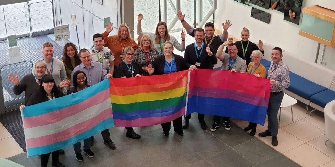 NHS organisation named one of Britain's top LGBT-inclusive employers
