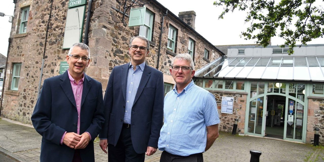 Newcastle Building Society's Community Fund supports Trust's new roof with five figure grant
