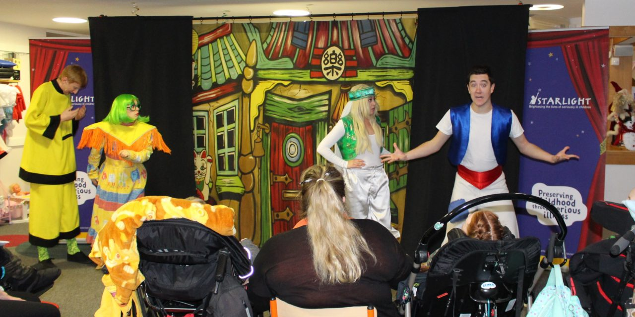 Christmas magic in January at St Oswald's Hospice
