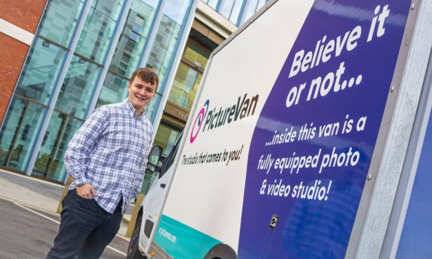 One man, a camera and a van