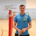 Tom smashes through UK's top 100 badminton players