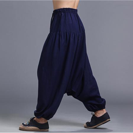 Be more fashionable by using the different harem pants styles