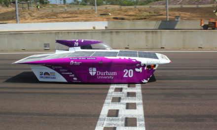 Durham University's solar car excels in international race