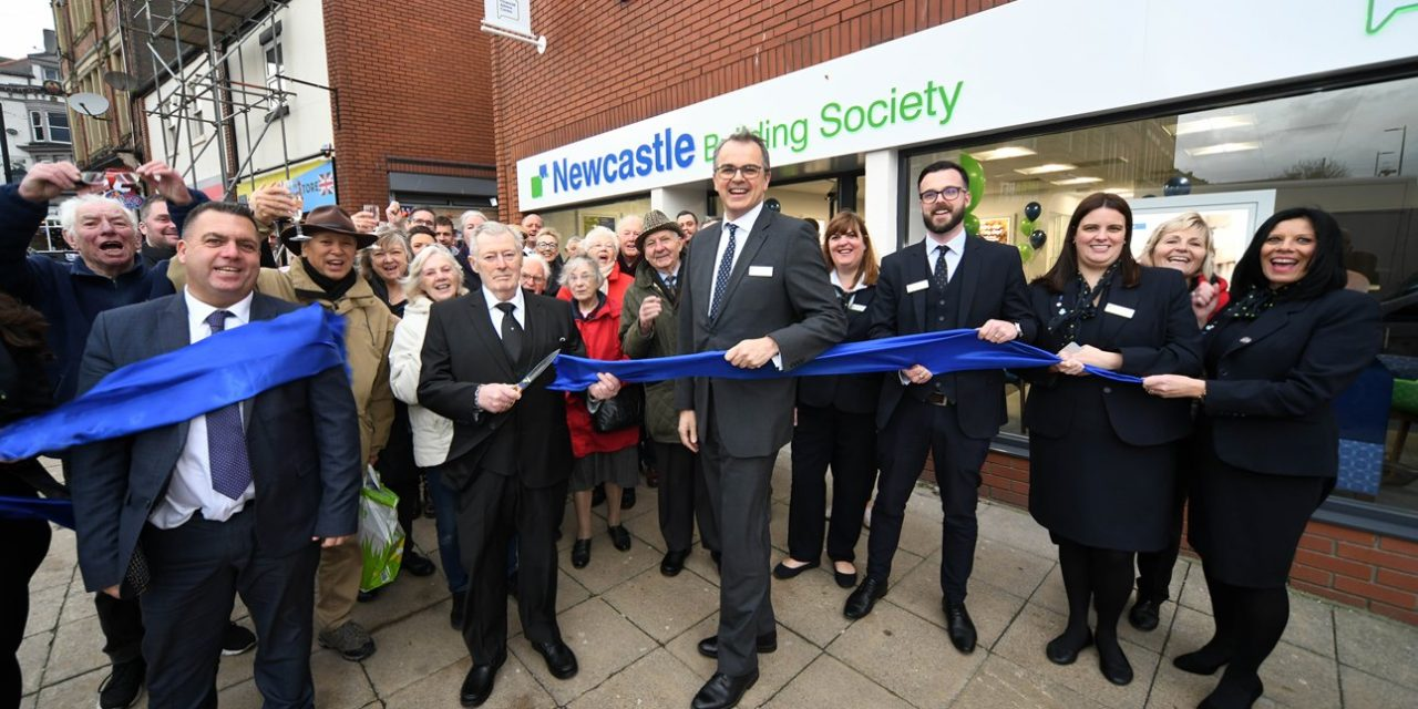 Official Opening For Newcastle Building Society's New South Shields Branch