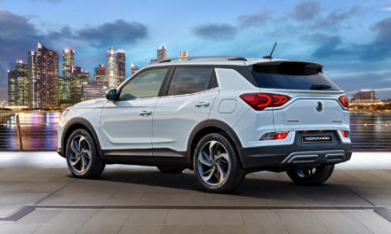 The new-look Korando from the company that's been building SUVs for 65 years