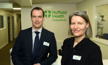 Outstanding Tees hospital strengthens management team with two new appointments