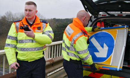 New series highlights life working on one of UK's busiest roads