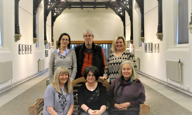 Winter exhibition showcases artists in new creative hub