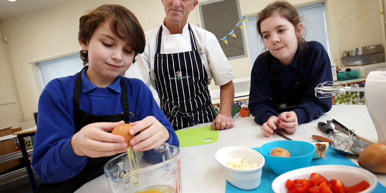 Culinary classroom on menu for primary school students