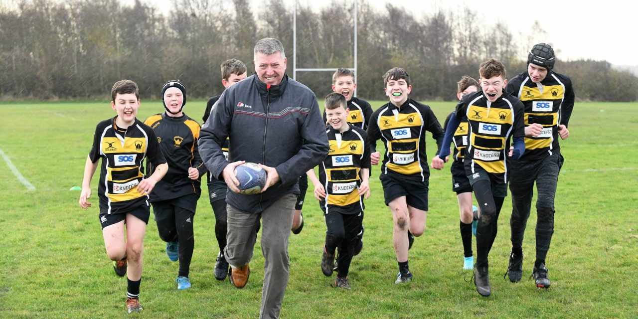 SOS GROUP 'TRIES' TO SUPPORT YOUNG RUGBY PLAYERS