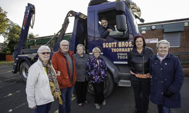 Scott Bros. helps tackle community centre 'jungle'