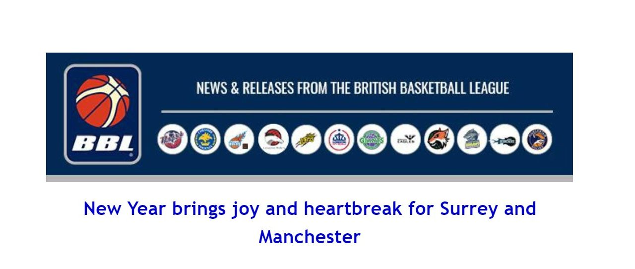 New Year brings joy and heartbreak for Surrey and Manchester