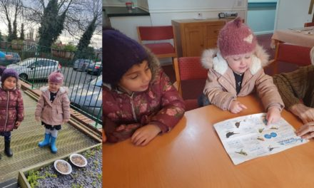 Big Garden Birdwatch brings Thornaby's generations together
