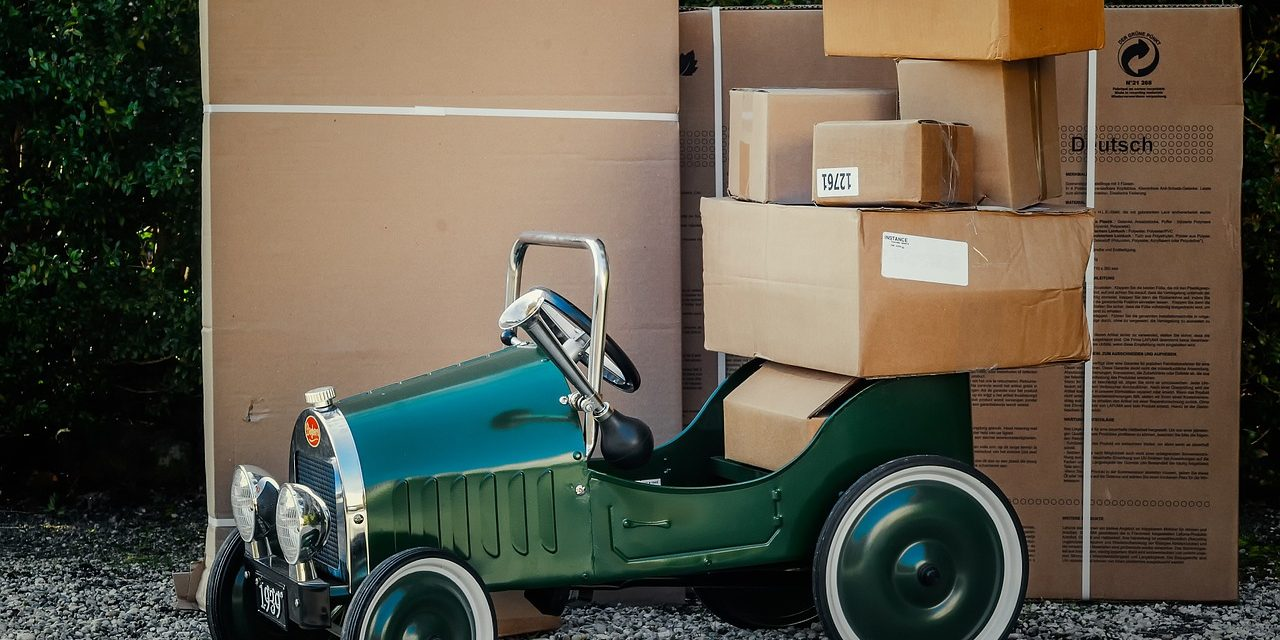 The rise of deliveries