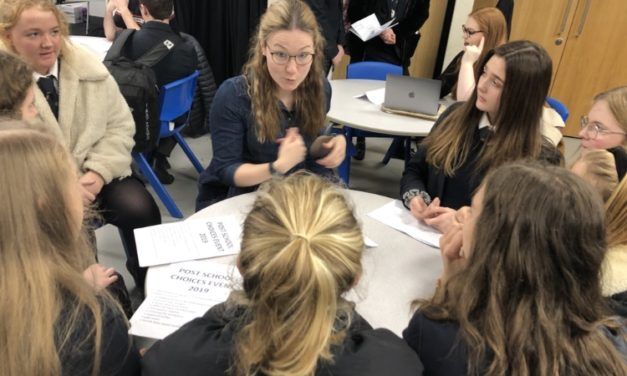 Ripon Grammar students benefit from past pupil advice